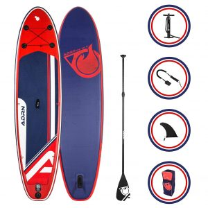 Stand up paddle gonflable Adrenalin Explorer 10'8
