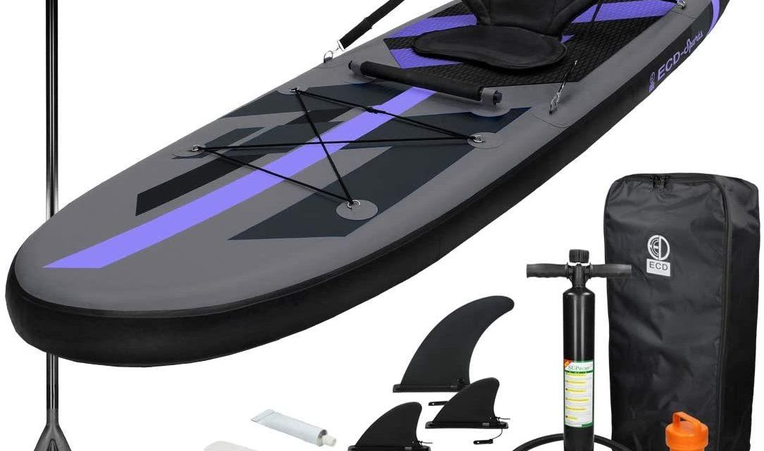 Les 5 Meilleurs Kayaks Gonflables (2021)